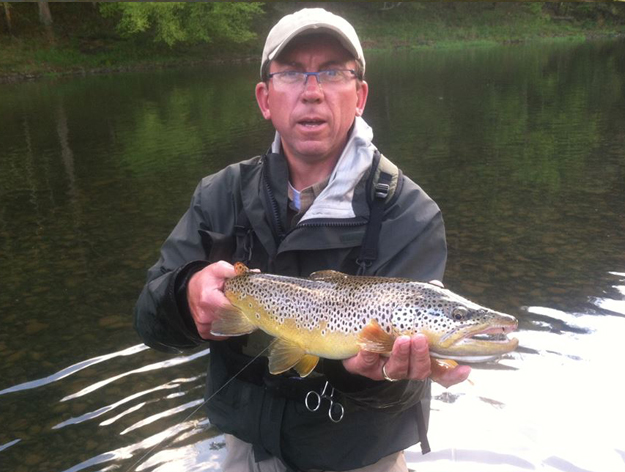 Tim Oliphant, Delaware River Fly Fishing Guide